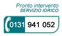 Pronto intervento servizio idrico 0131 941 052